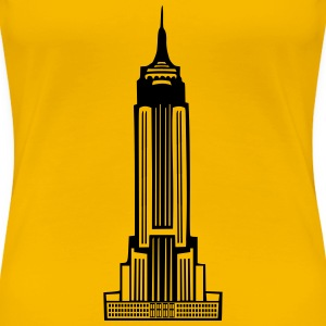 Empire State Building - Women's Premium T-Shirt