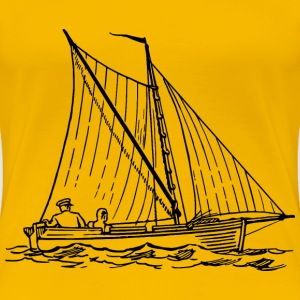 Sailboat 3 - Women's Premium T-Shirt