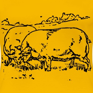Moch | Pigs - Women's Premium T-Shirt