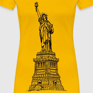Statue of liberty - Women's Premium T-Shirt