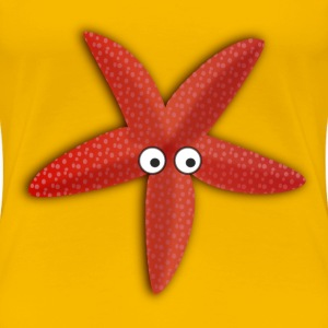 Cartoon Seastar - Women's Premium T-Shirt