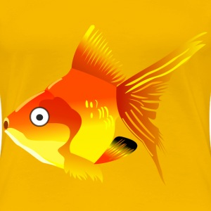 Cartoon goldfish - Women's Premium T-Shirt