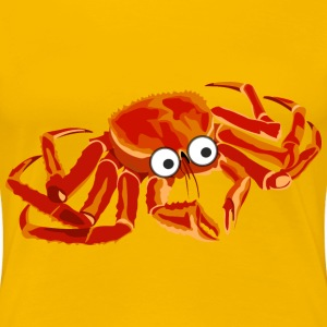 cartoon crab 2 - Women's Premium T-Shirt