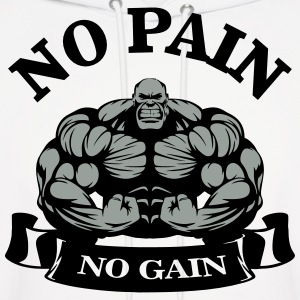 No Pain No Gain Hoodies - Men's Hoodie