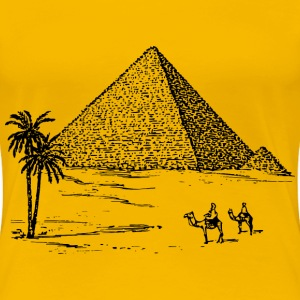 Pyramid 2 - Women's Premium T-Shirt