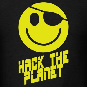 Hack the Planet - Men's T-Shirt