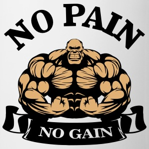 No Pain No Gain Mugs & Drinkware - Coffee/Tea Mug