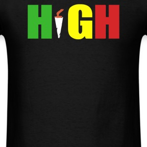high rasta - Men's T-Shirt
