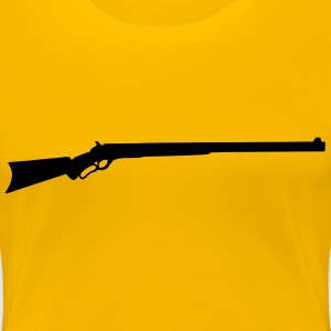 Rifle silhouette - Women's Premium T-Shirt