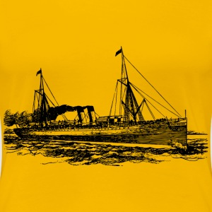Steam ship - Women's Premium T-Shirt