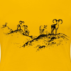 Wild sheep 2 - Women's Premium T-Shirt