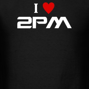 I Love 2pm - Men's T-Shirt