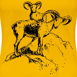 Wild sheep 3 - Women's Premium T-Shirt