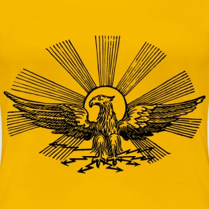 Stylized eagle - Women's Premium T-Shirt