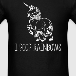 Unicorn I Poop Rainbows - Men's T-Shirt
