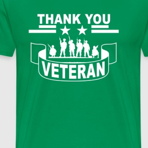 thank_to_veteran_tshirt_ - Men's Premium T-Shirt