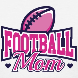 Football Mom - Women's T-Shirt