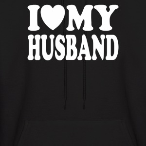 I Love my Husband - Men's Hoodie