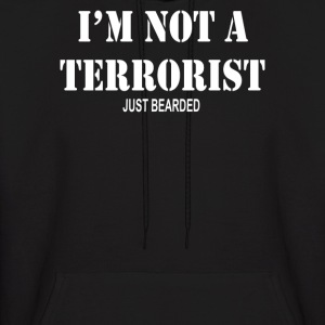 Im Not A Terrorist Just Bearded - Men's Hoodie
