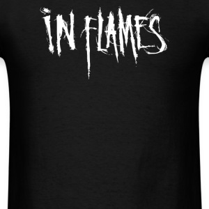 In Flames logo - Men's T-Shirt