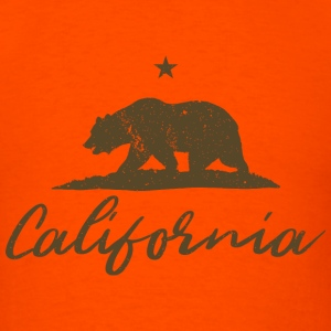Vintage California Bear - Men's T-Shirt