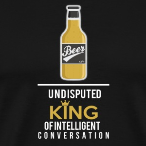 Beer - The King T-Shirts - Men's Premium T-Shirt