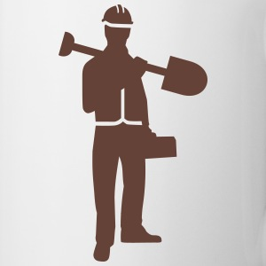 Construction worker Mugs & Drinkware - Coffee/Tea Mug