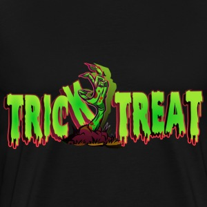 Trick or Treat Zombie Hand Shirt  - Men's Premium T-Shirt