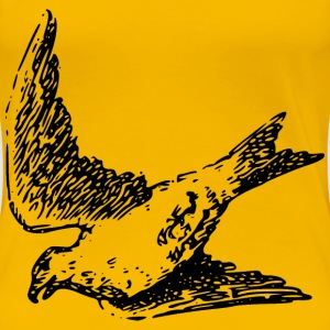 Bird in flight - Women's Premium T-Shirt