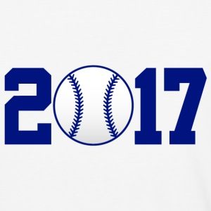 2017 Baseball navy T-Shirts - Baseball T-Shirt
