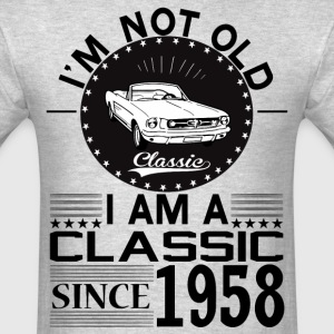 Classic since 1958 T-Shirts - Men's T-Shirt