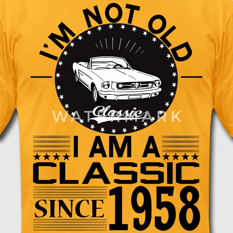 Classic since 1958 T-Shirts - Men's T-Shirt by American Apparel