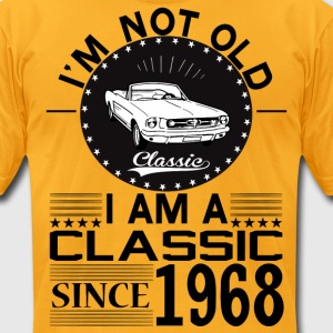 Classic since 1968 T-Shirts - Men's T-Shirt by American Apparel