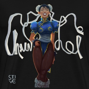 Chun Li Smile  - Men's Premium T-Shirt