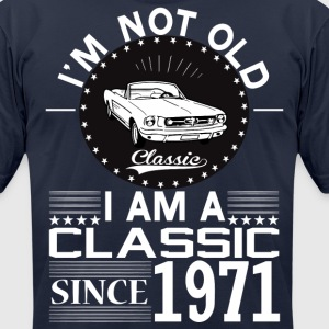 Classic since 1971 T-Shirts - Men's T-Shirt by American Apparel
