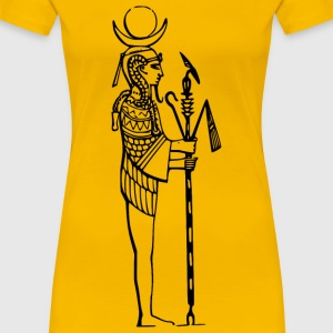 Egyptian god, Amen - Women's Premium T-Shirt