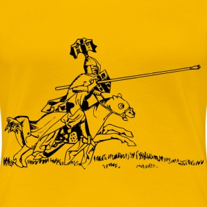 Jousting knight 1 - Women's Premium T-Shirt