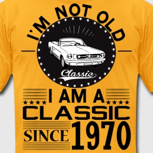 Classic since 1970 T-Shirts - Men's T-Shirt by American Apparel