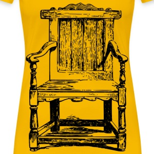 Wooden chair - Women's Premium T-Shirt