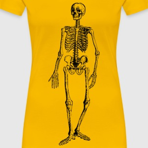 Skeleton 2 - Women's Premium T-Shirt