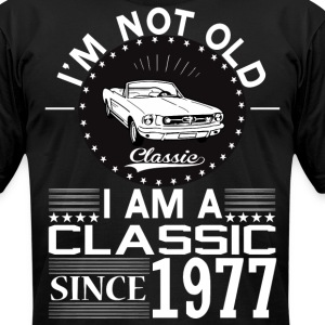 Classic since 1977 T-Shirts - Men's T-Shirt by American Apparel