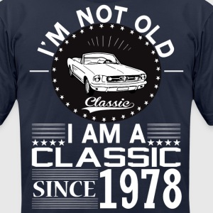 Classic since 1978 T-Shirts - Men's T-Shirt by American Apparel