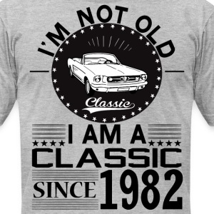Classic since 1982 T-Shirts - Men's T-Shirt by American Apparel