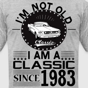 Classic since 1983 T-Shirts - Men's T-Shirt by American Apparel
