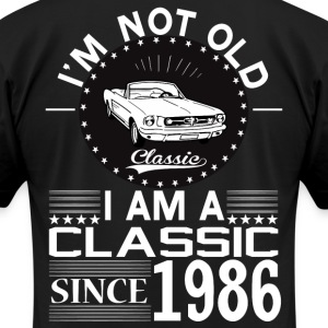 Classic since 1986 T-Shirts - Men's T-Shirt by American Apparel