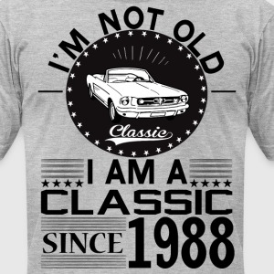 Classic since 1988 T-Shirts - Men's T-Shirt by American Apparel