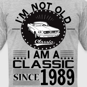 Classic since 1989 T-Shirts - Men's T-Shirt by American Apparel