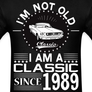 Classic since 1989 T-Shirts - Men's T-Shirt