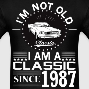 Classic since 1987 T-Shirts - Men's T-Shirt