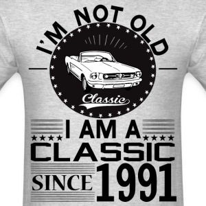 Classic since 1991 T-Shirts - Men's T-Shirt